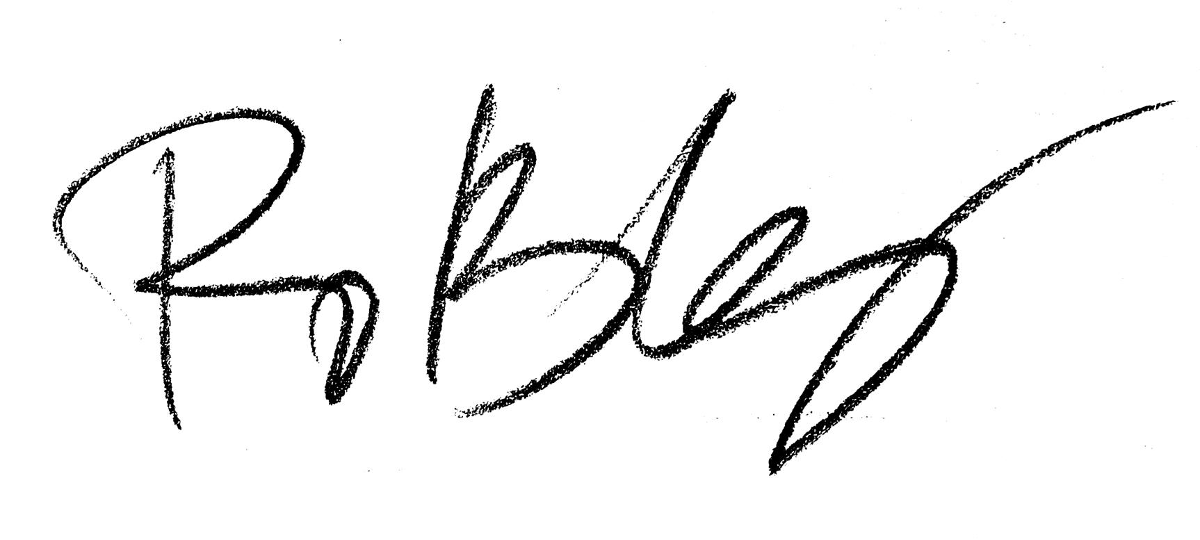 Álvaro Robles's Signature