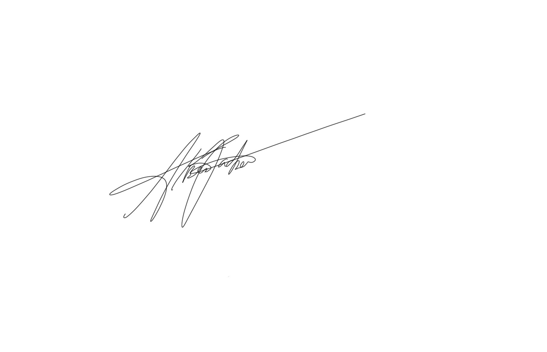 Alberto Pacheco's Signature