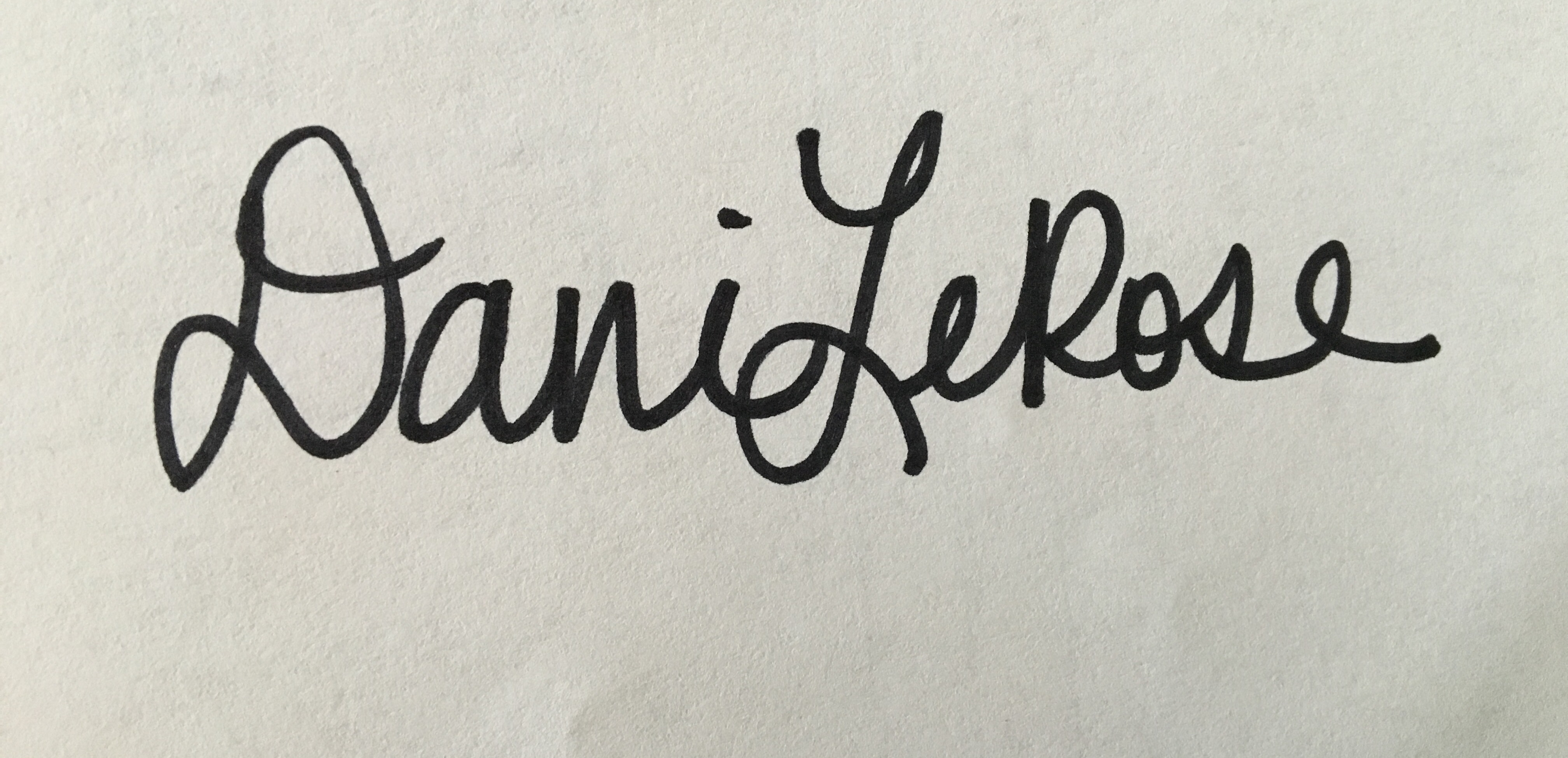 Dani LeRose's Signature
