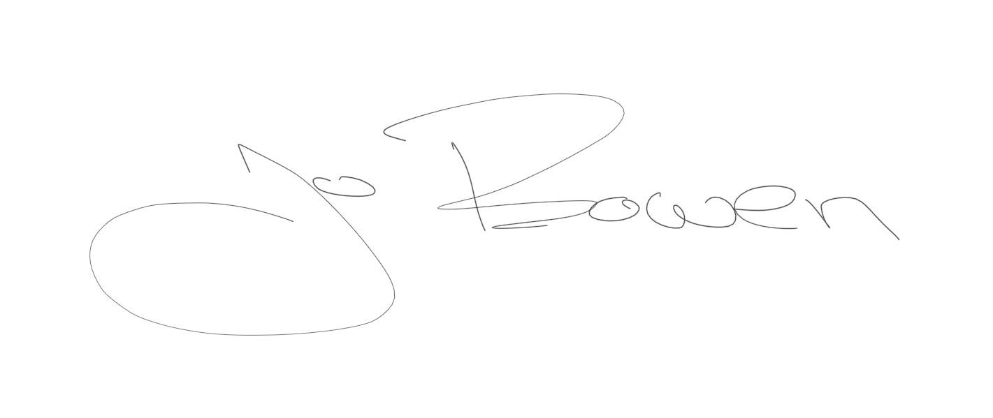 Jo Bowen's Signature