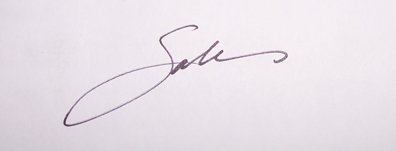 Sabina WISE's Signature