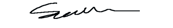 Gethin Thomas's Signature