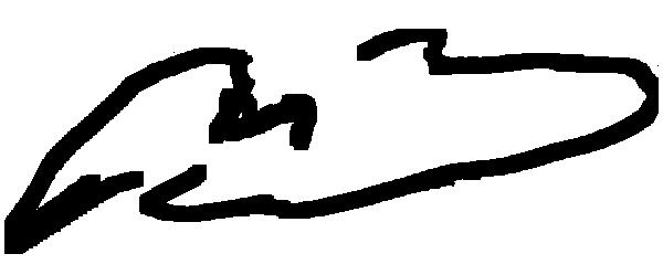 M. B's Signature
