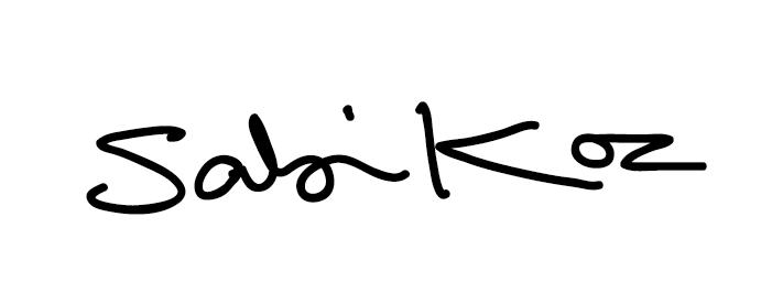 Sabi Koz's Signature