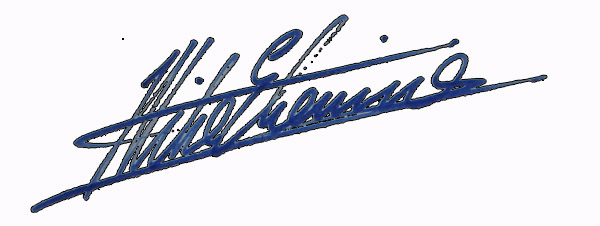 Mike Etienne's Signature