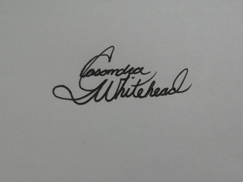 Casandra  Whitehead's Signature