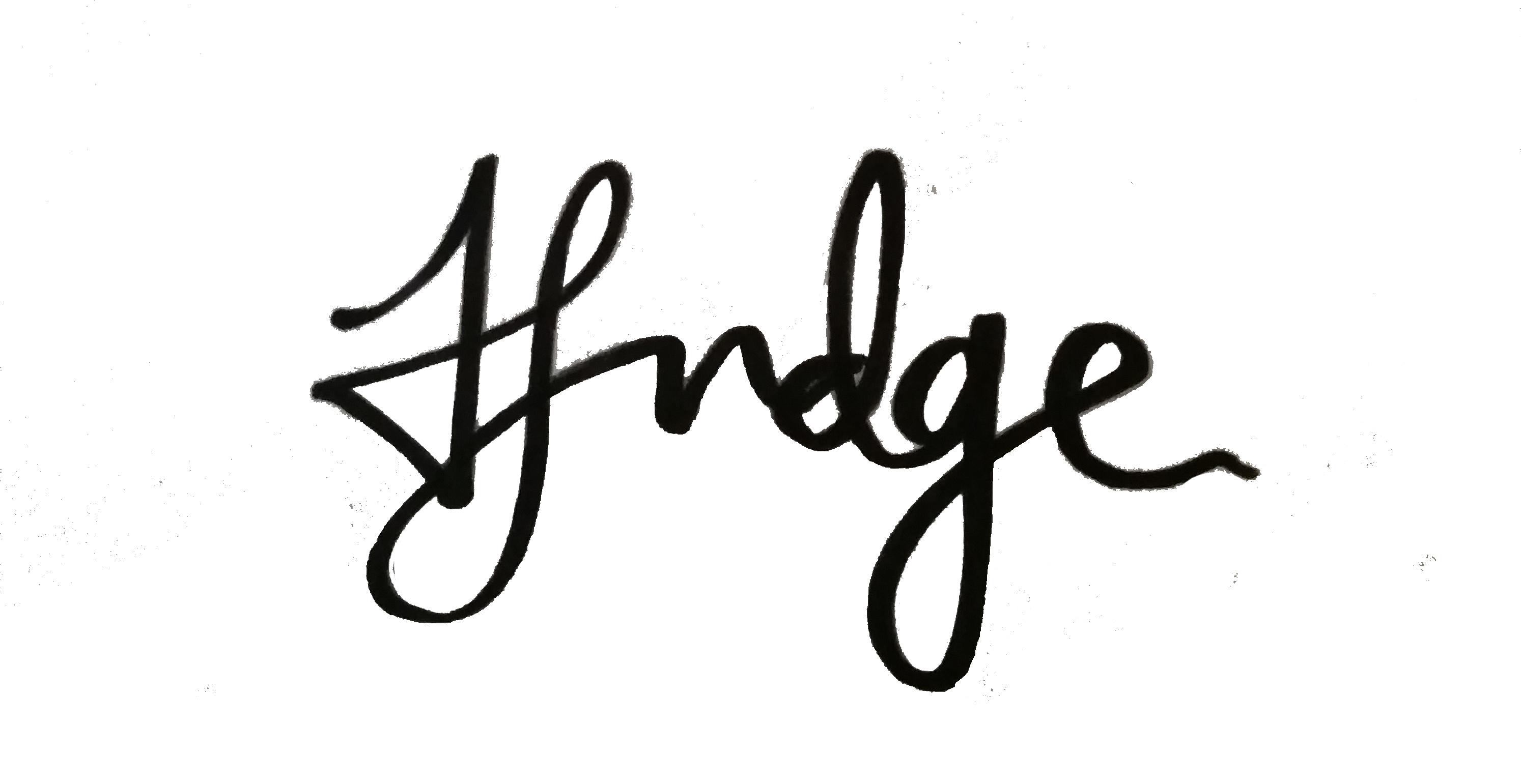 Helen Judge's Signature
