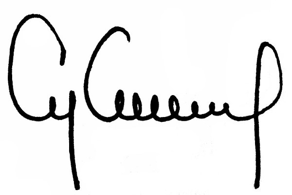Cyra Cancel's Signature