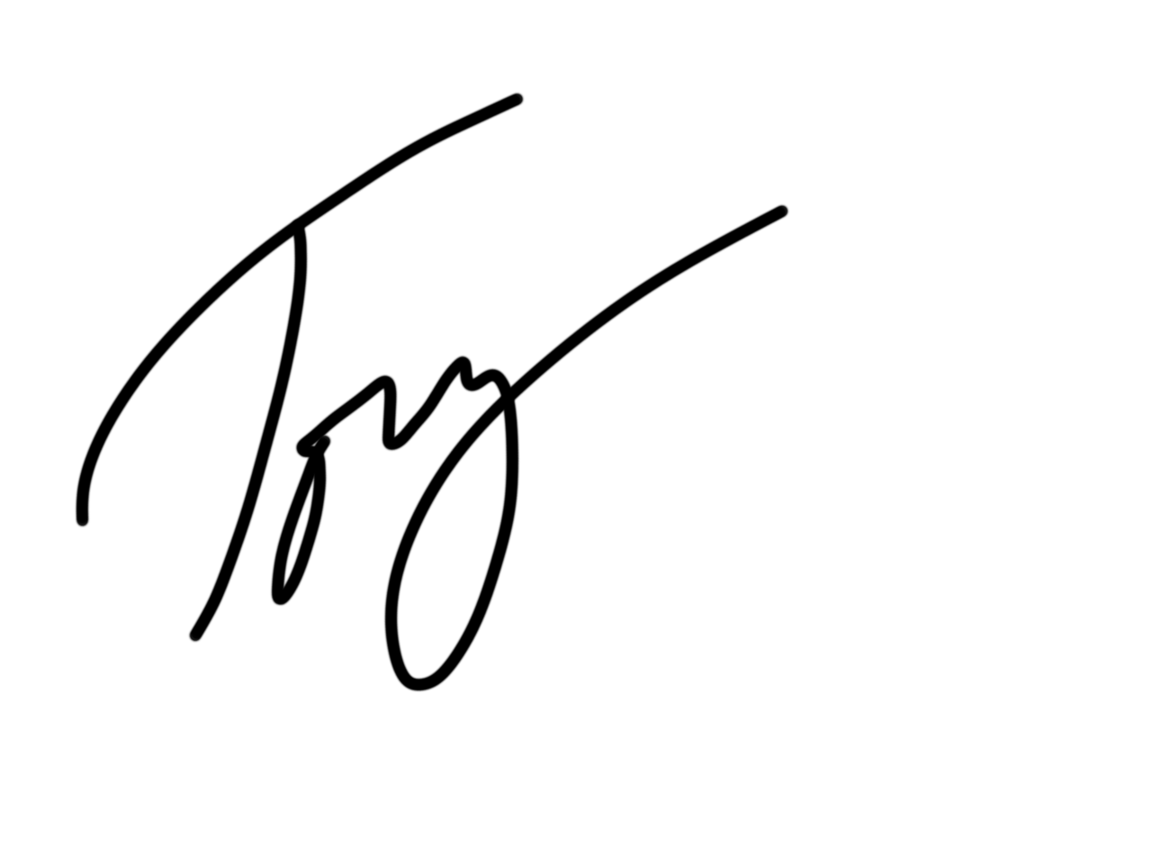 Jack Tovey's Signature