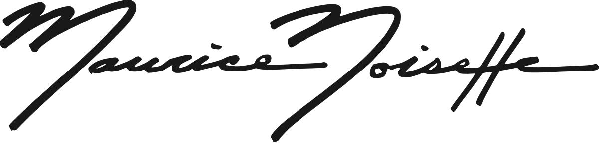 Maurice Noisette's Signature