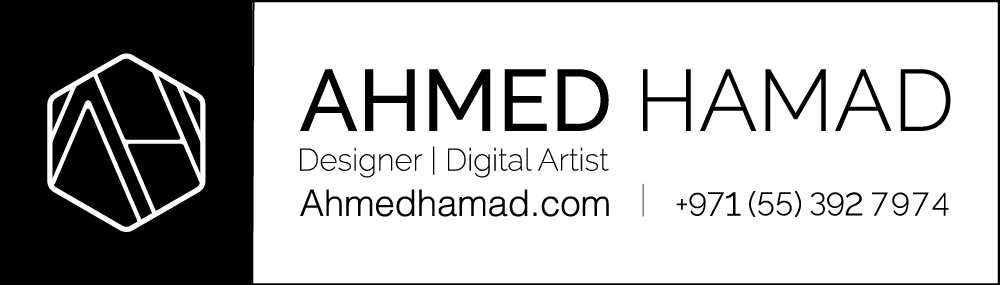 Ahmed Hamad's Signature