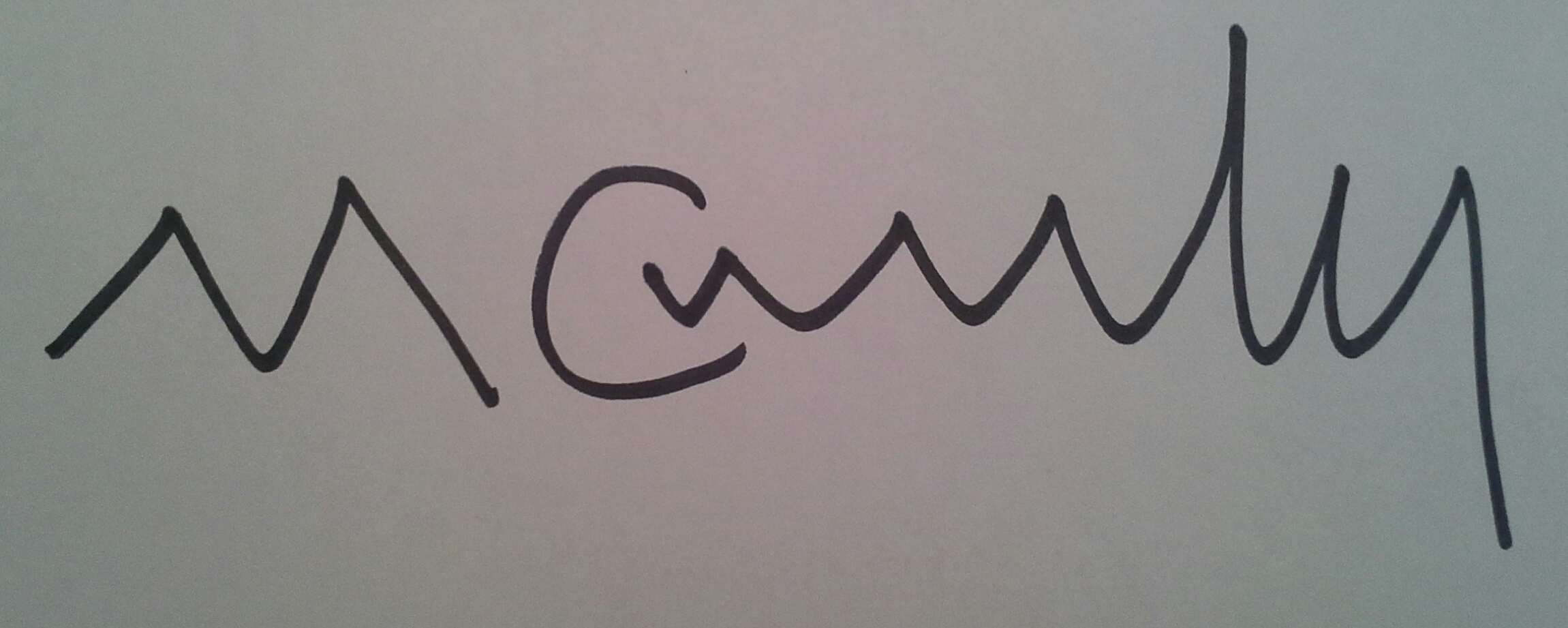 Matt Connelly's Signature