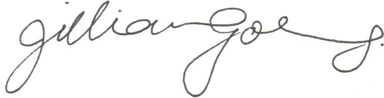 Jillian Goldberg's Signature