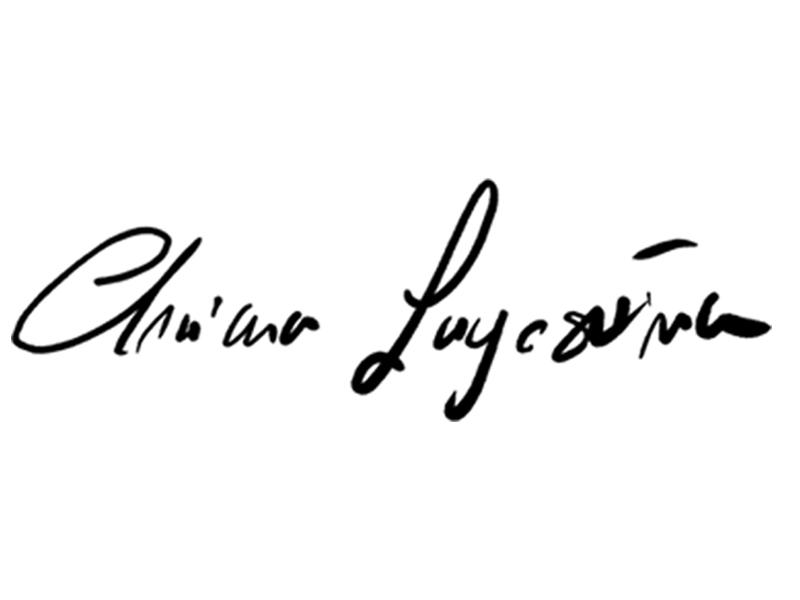 Chiara Lagostina's Signature