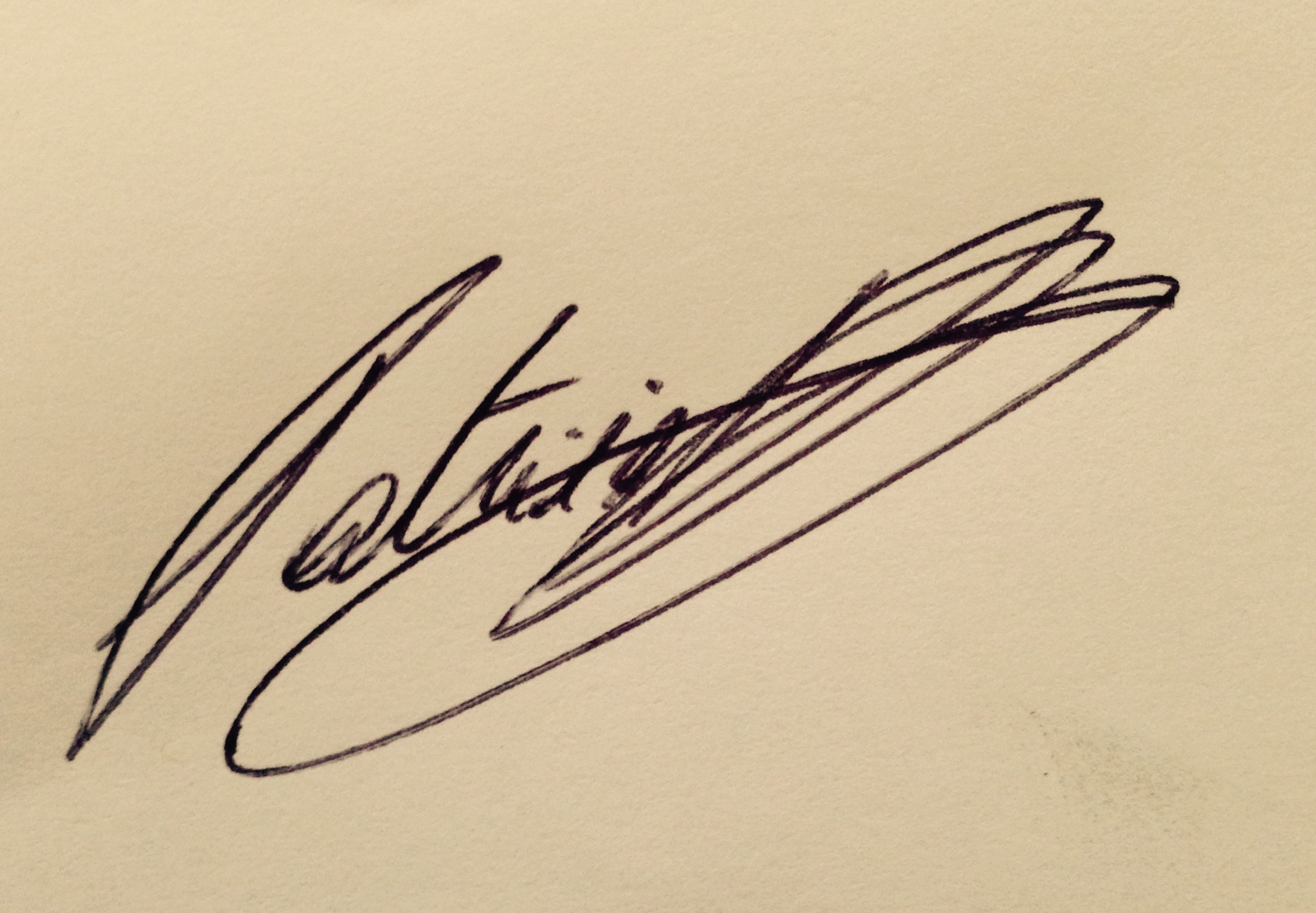Patricia Hoyos de Schryver's Signature