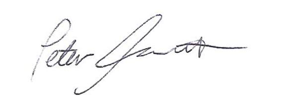 Peter Foucault's Signature