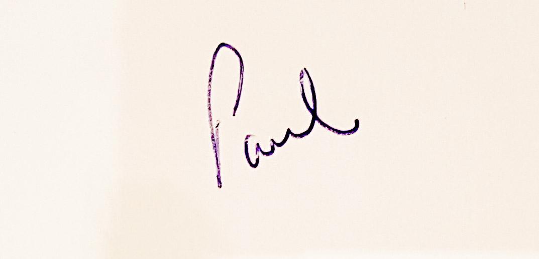 Paul Clark's Signature