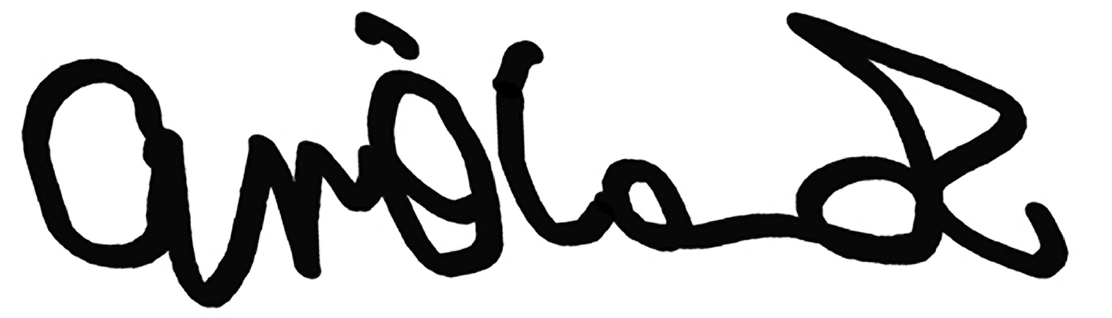 Anne O'Connor's Signature