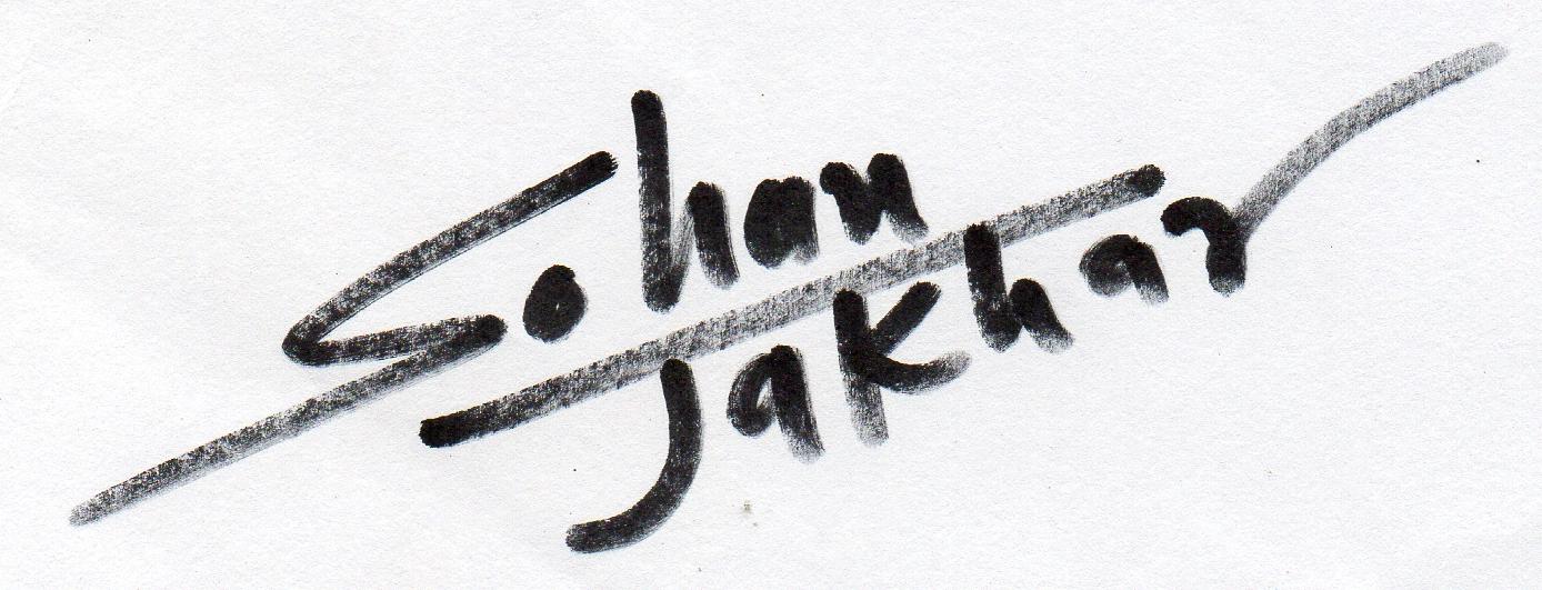 Sohan Jakhar's Signature