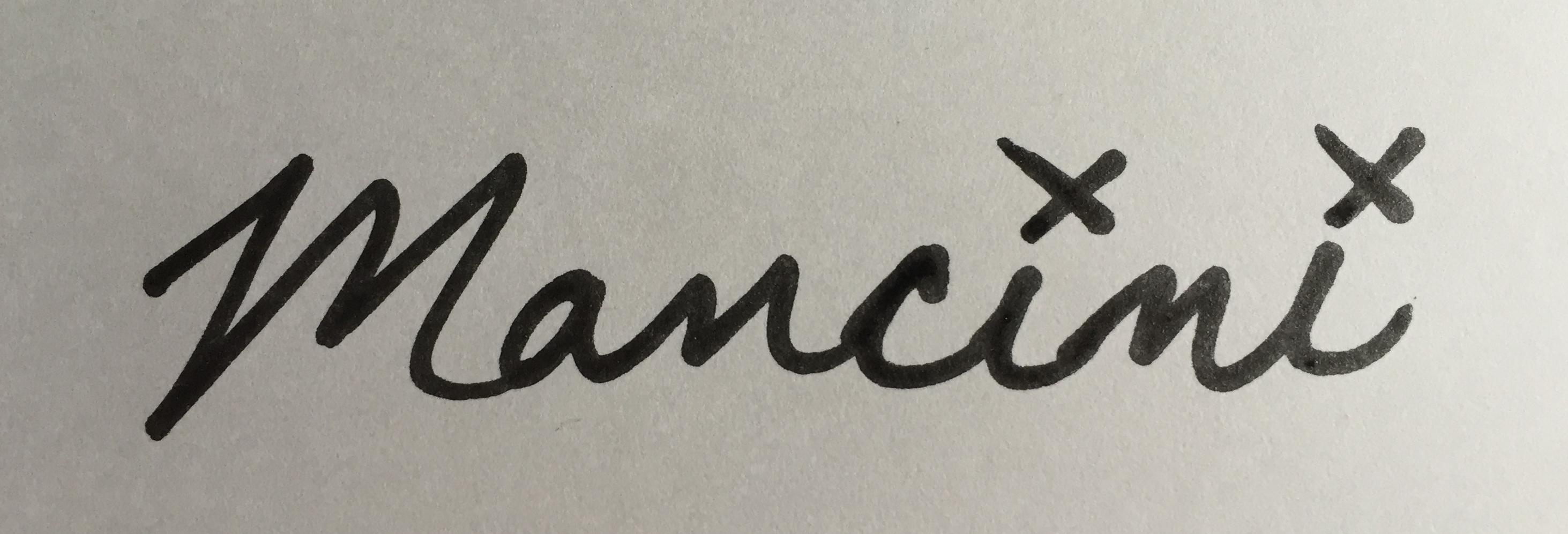 Eric Mancini's Signature