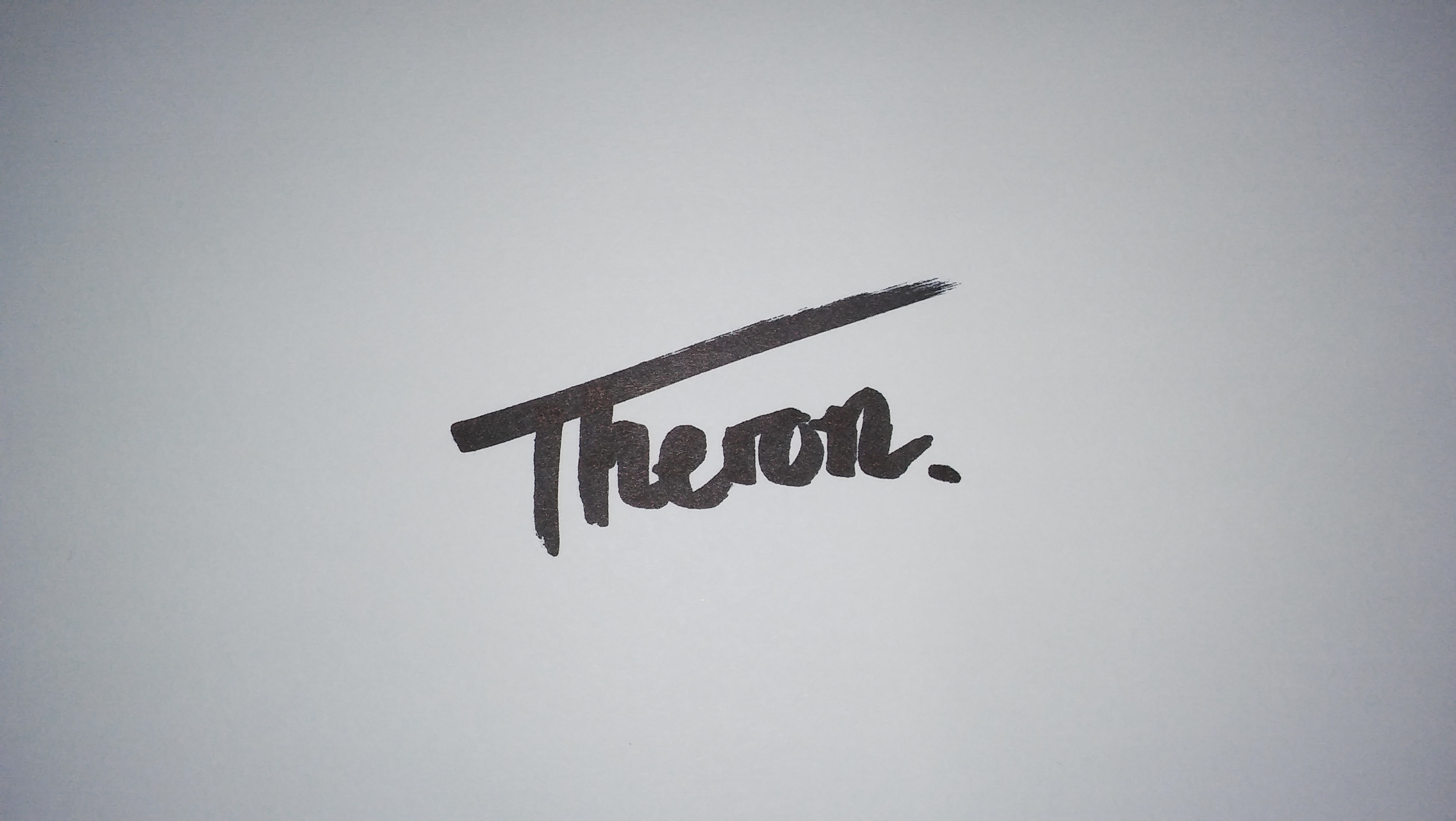hendrik theron's Signature