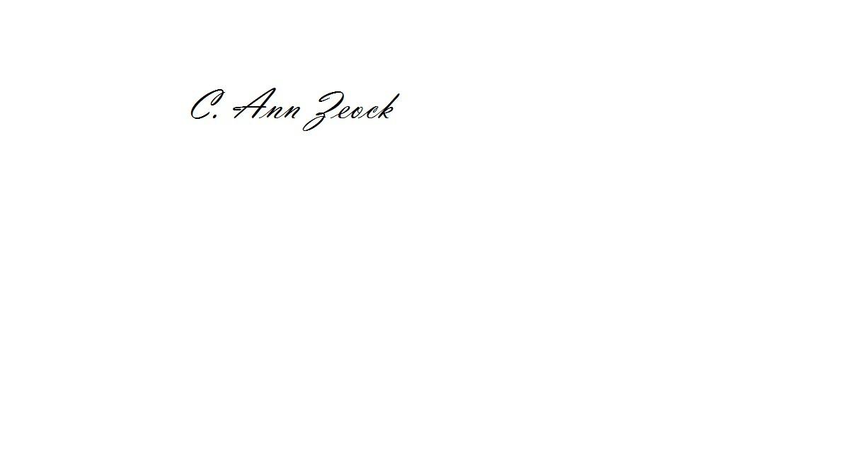 Carol Zeock's Signature