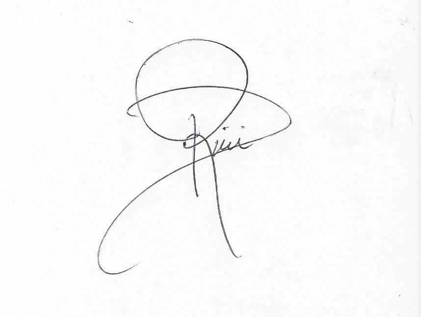Dianne Rini's Signature