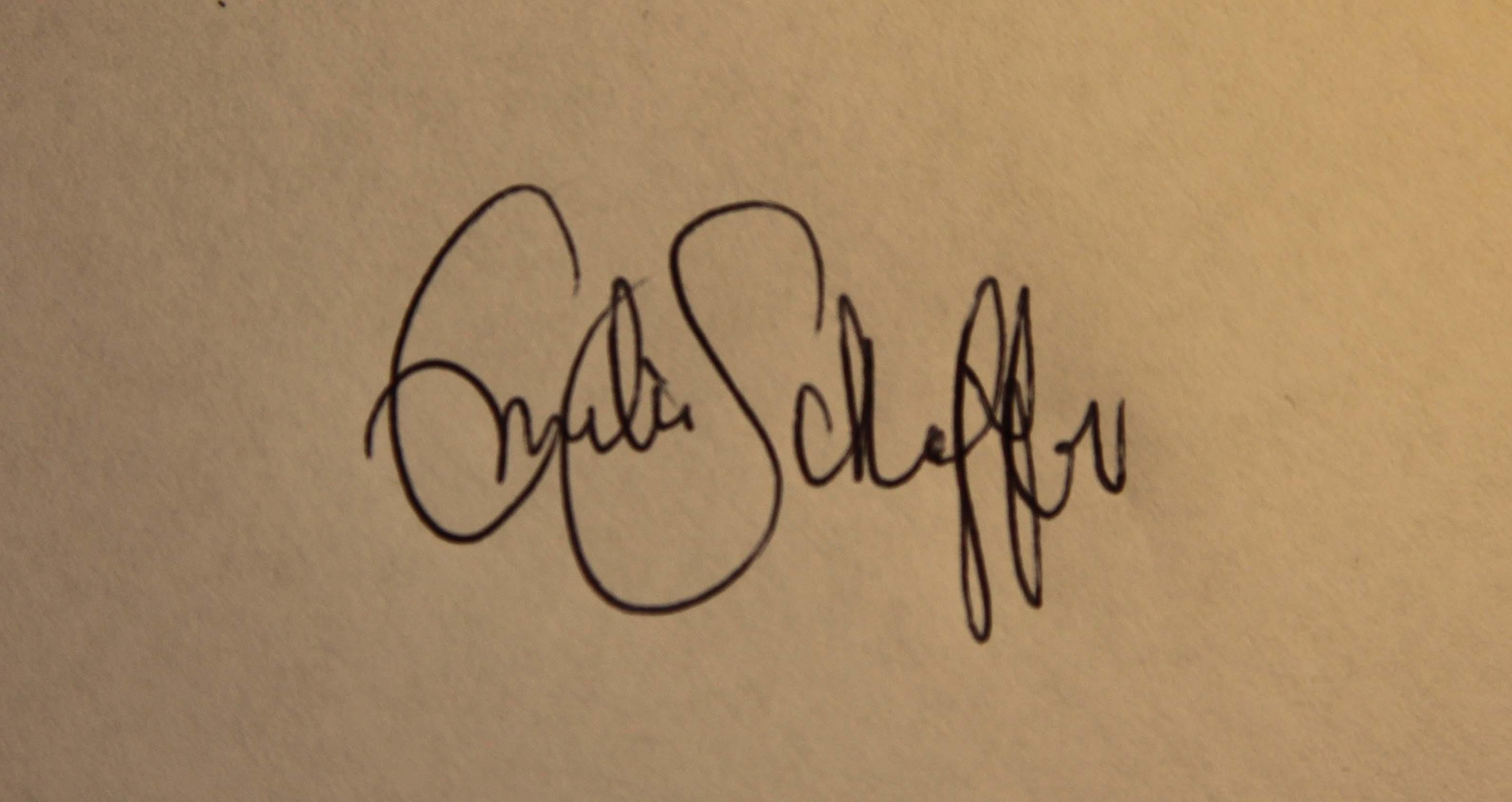 Emilia Heiskanen's Signature