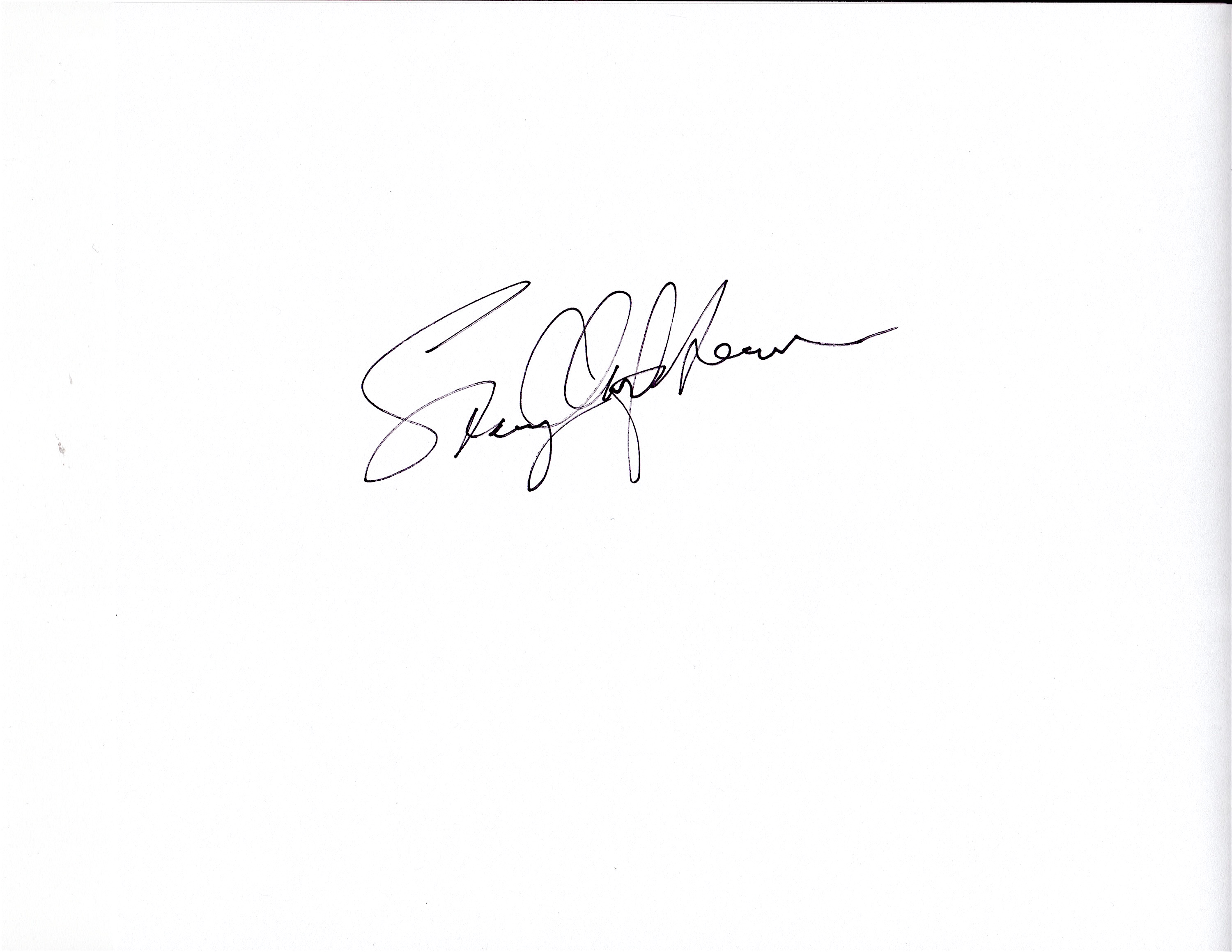 stacey Clarfield Newman's Signature