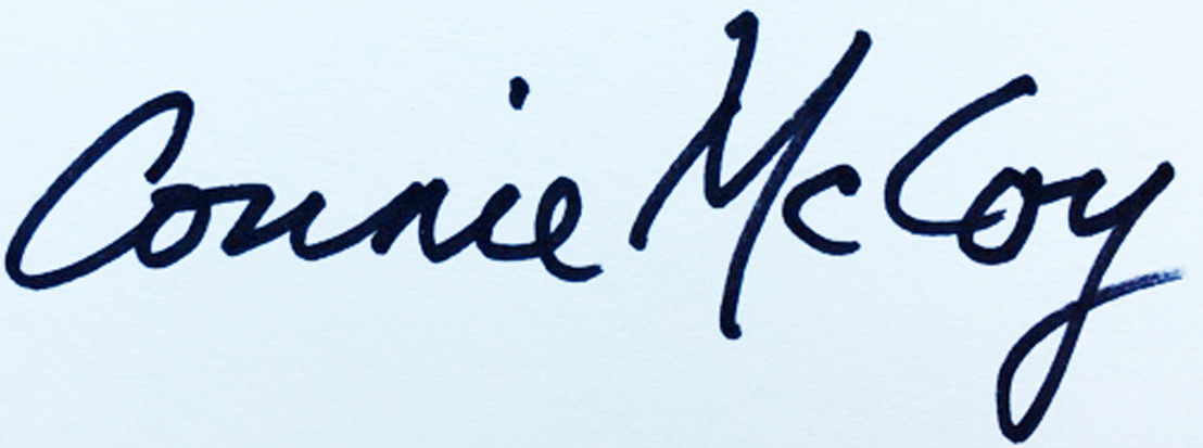 Connie McCoy's Signature
