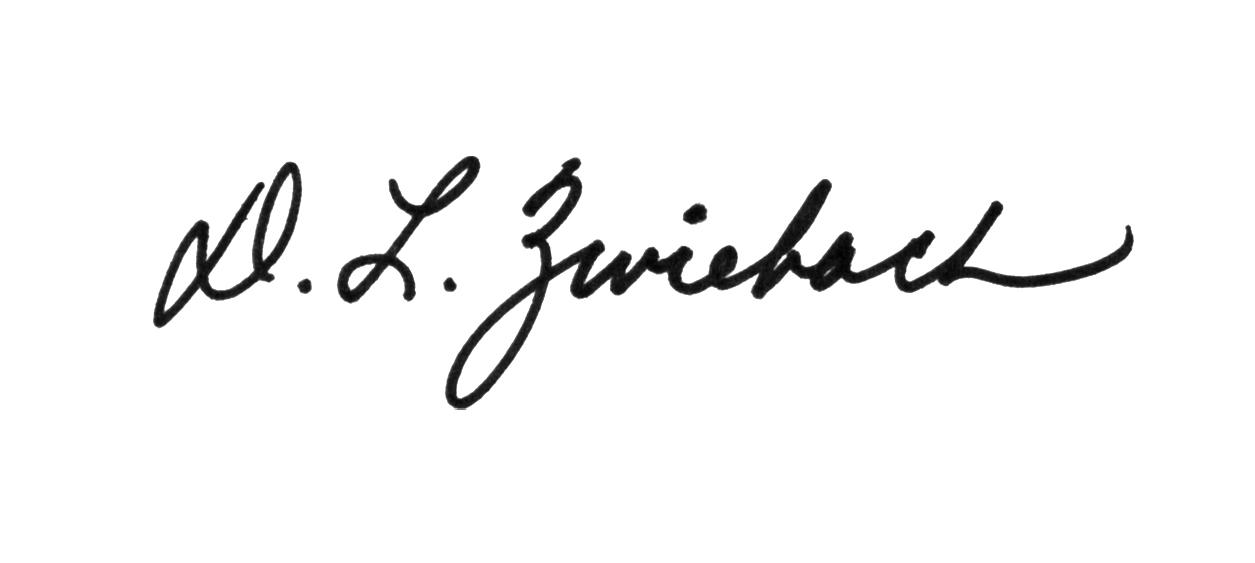 Debbie Zwiebach's Signature