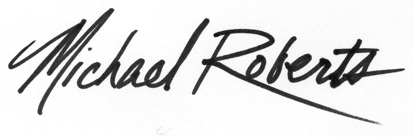 Michael Roberts's Signature