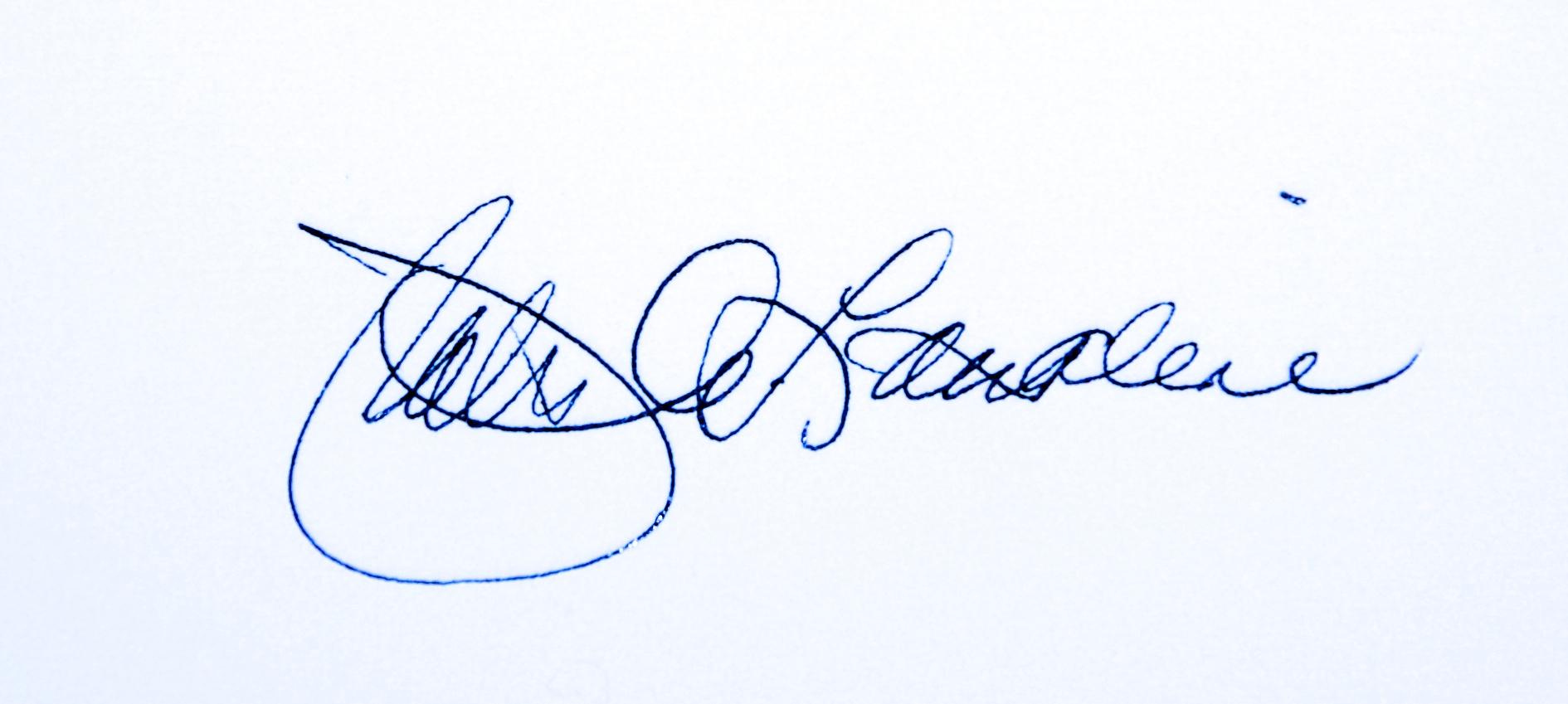 Patricia Lassaline's Signature