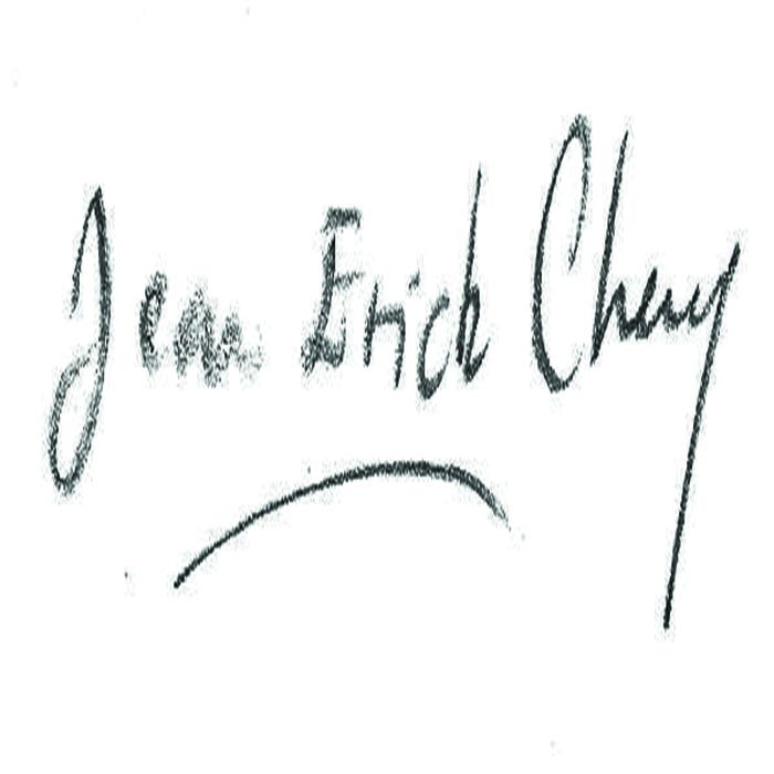 JEAN CHERY's Signature