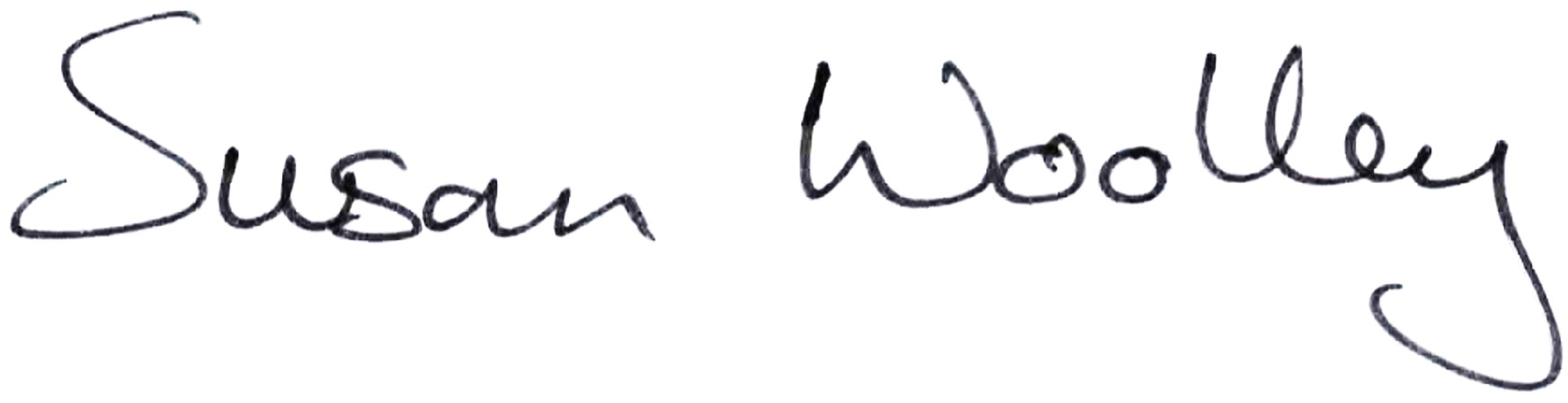 Susan Anne Woolley's Signature