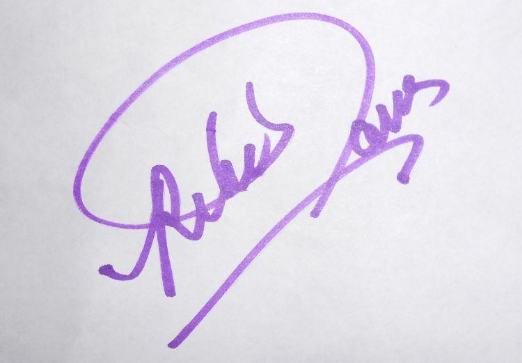 Rebekah Tanner's Signature