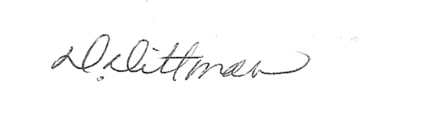 donna dittman's Signature