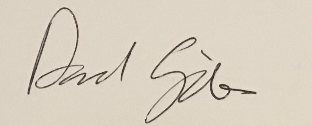David Giles's Signature