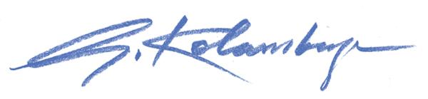 Gunasiri  Kolambage's Signature