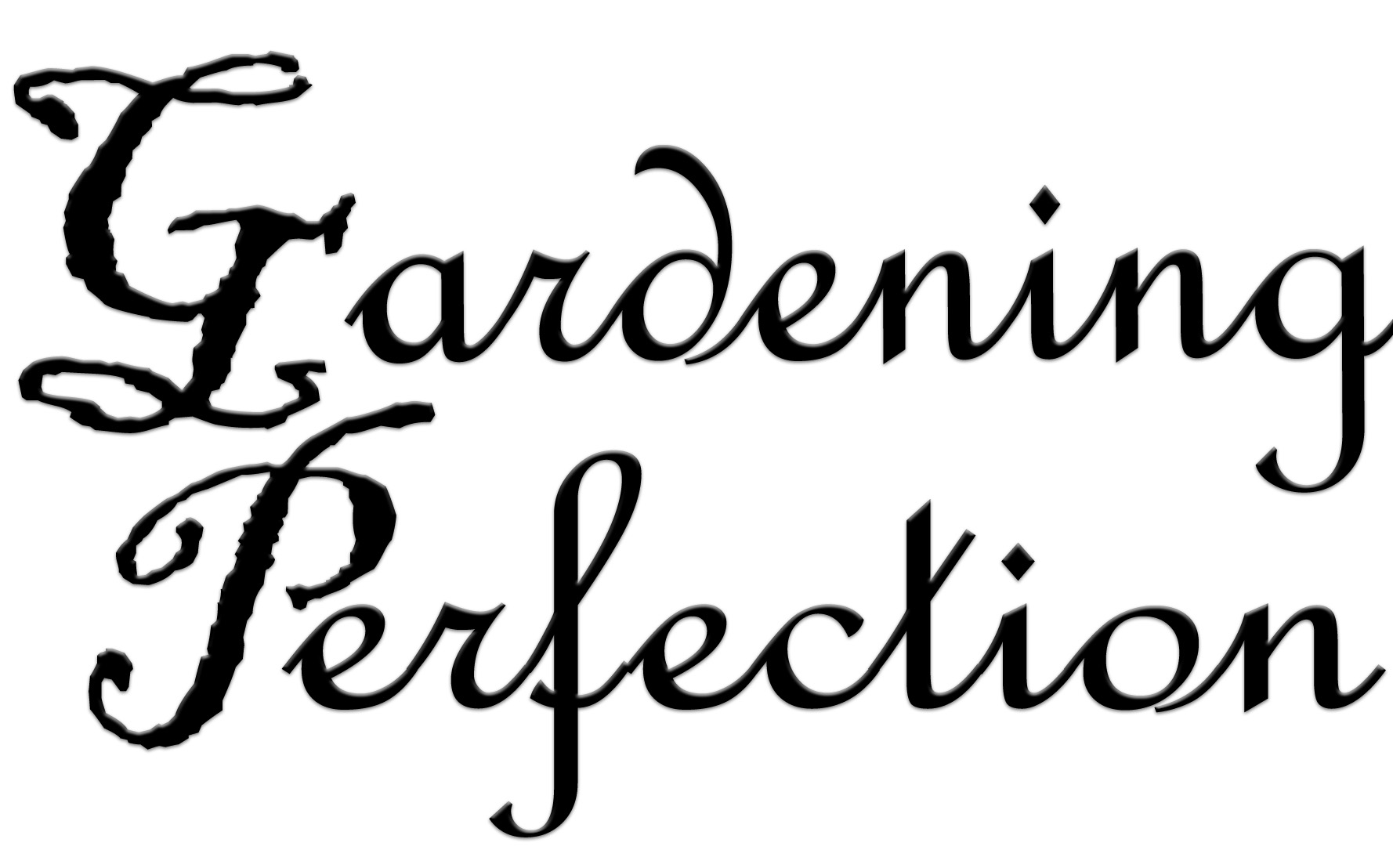 gARDENING PERFECTION's Signature