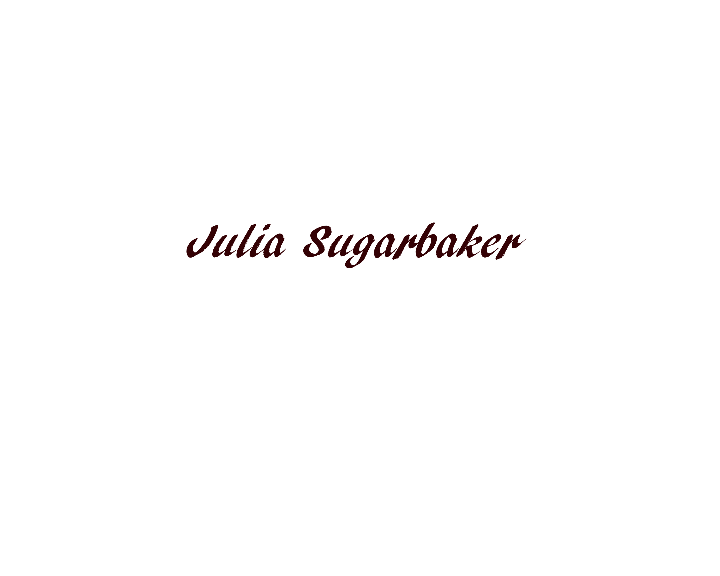 julia sugarbaker's Signature