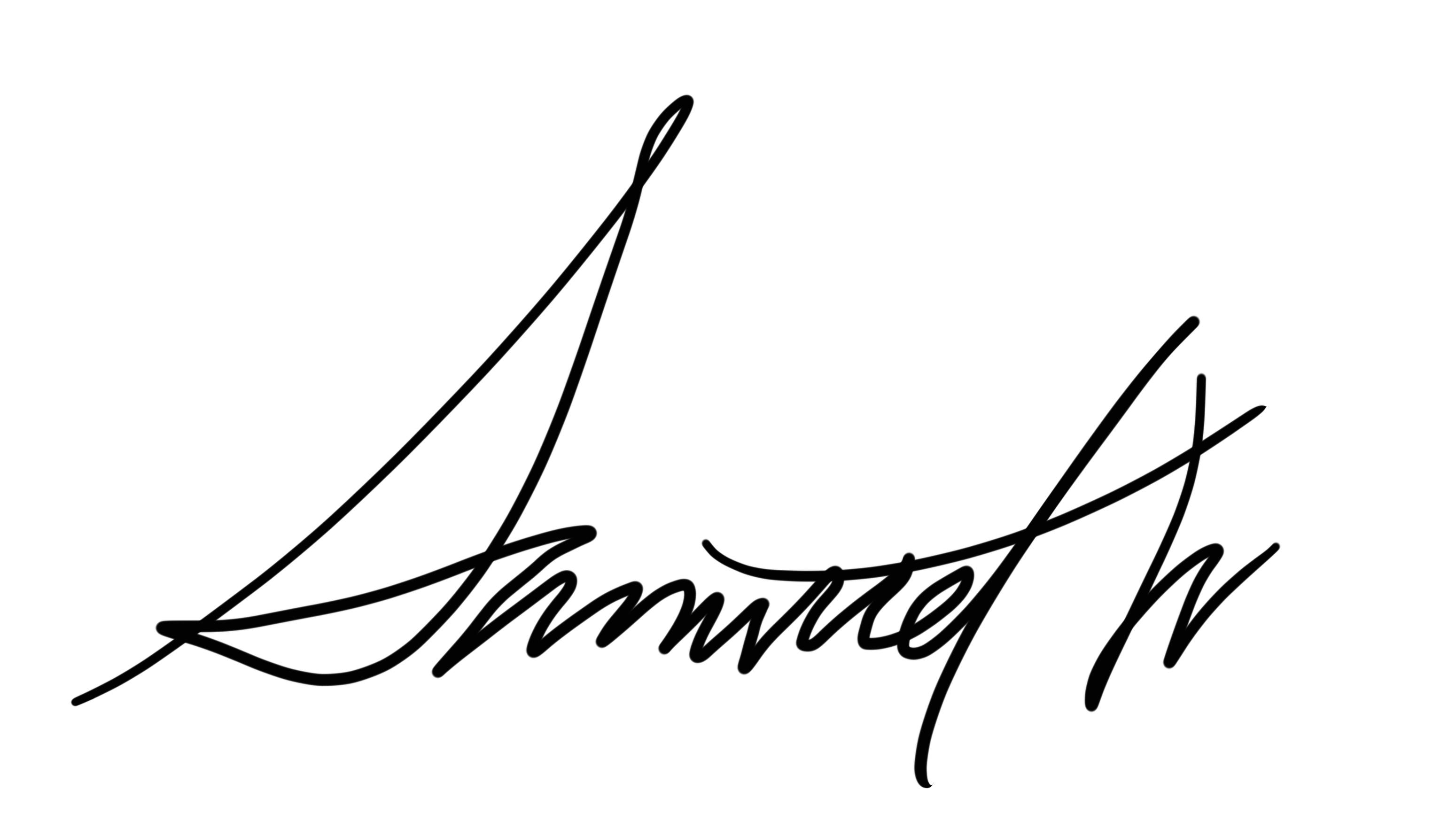 Samuel Wetmore's Signature