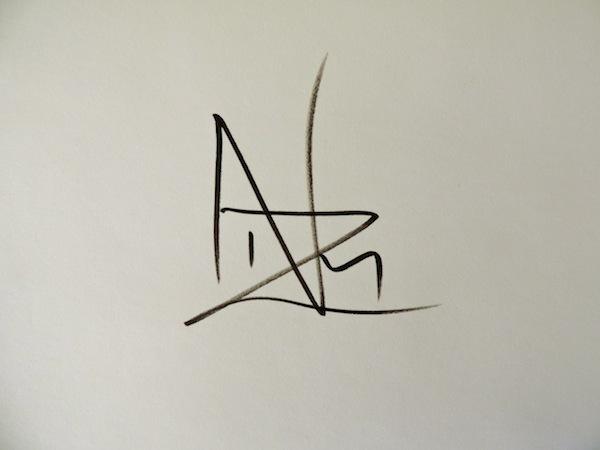 Nazim Artist's Signature