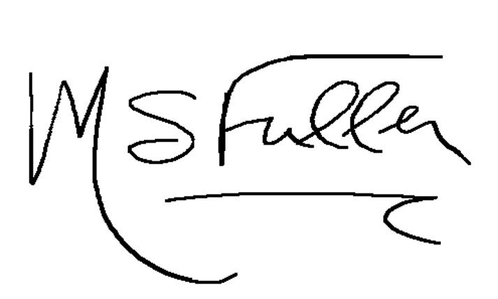 Marsha Spain Fuller's Signature
