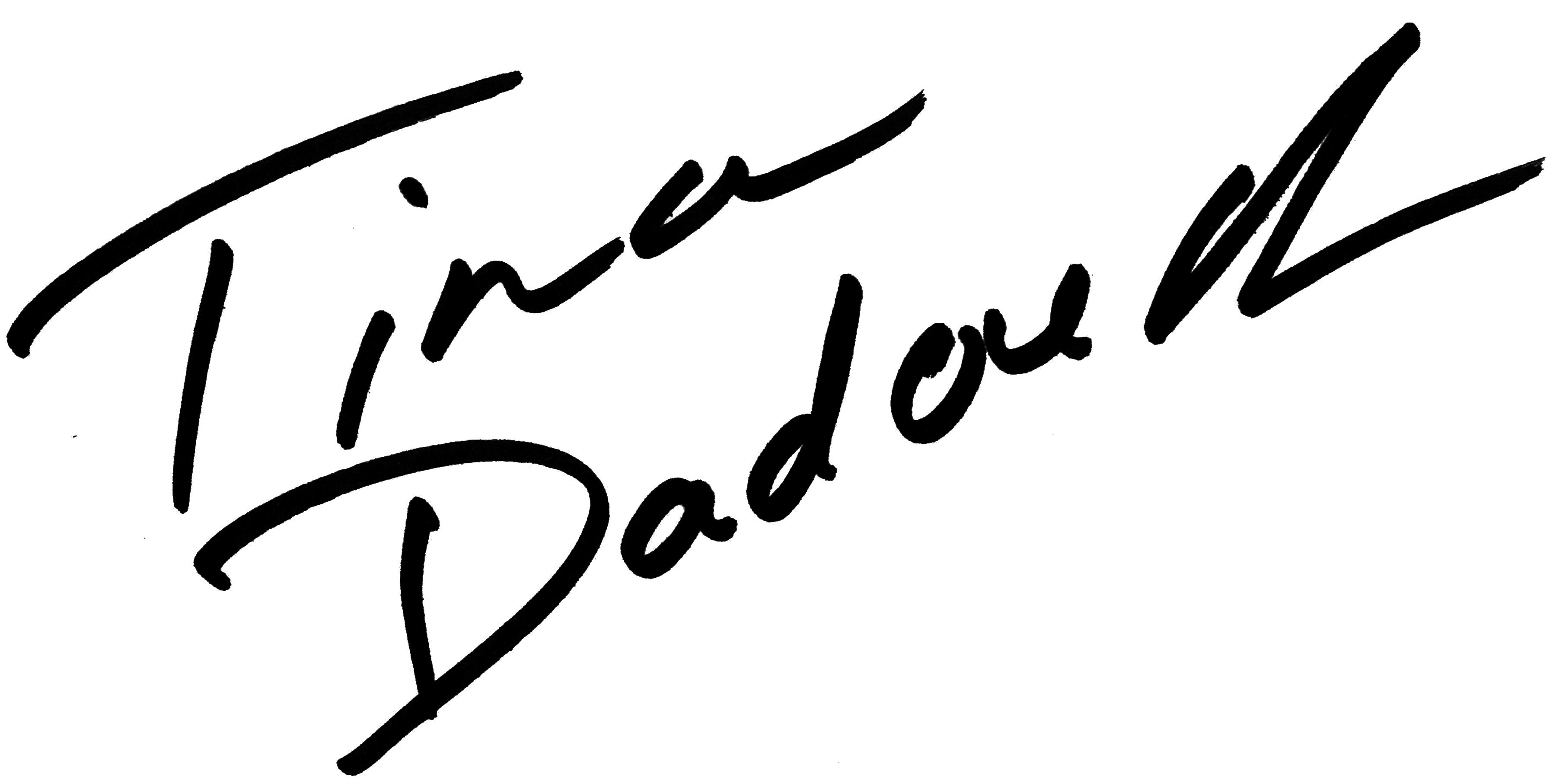 Tina Dadouch's Signature