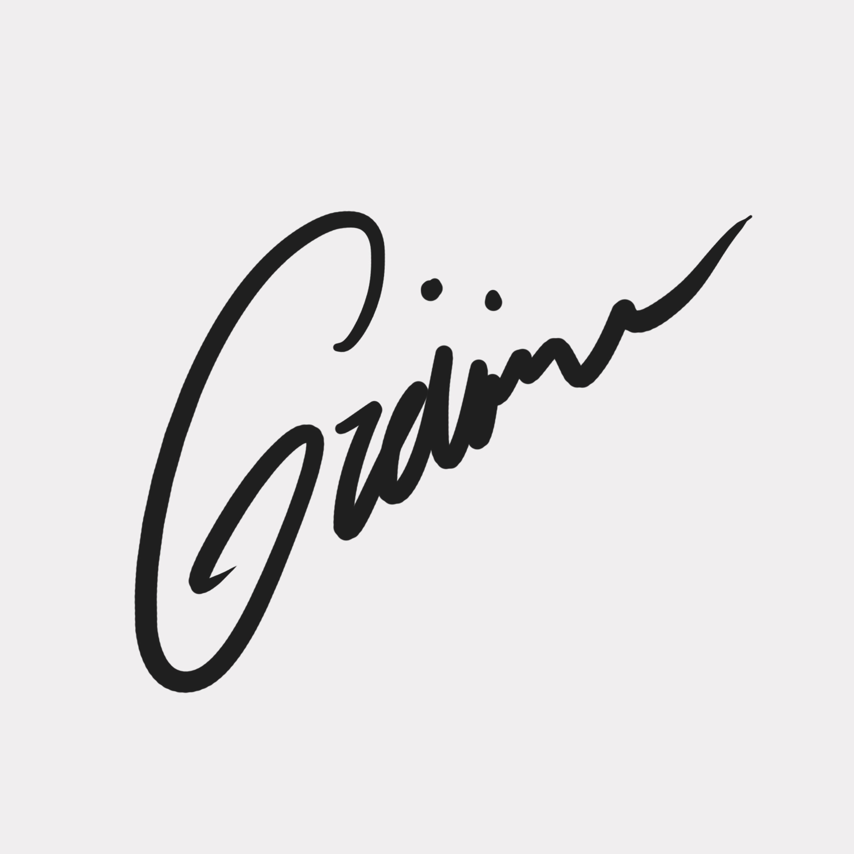 GReivin cruz's Signature