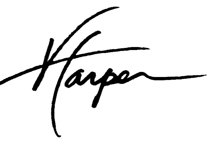 Virgil Harper's Signature