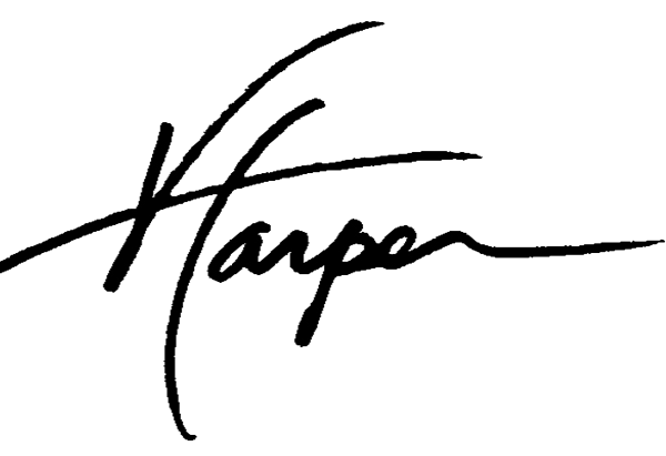 Virgil Harper's Signature