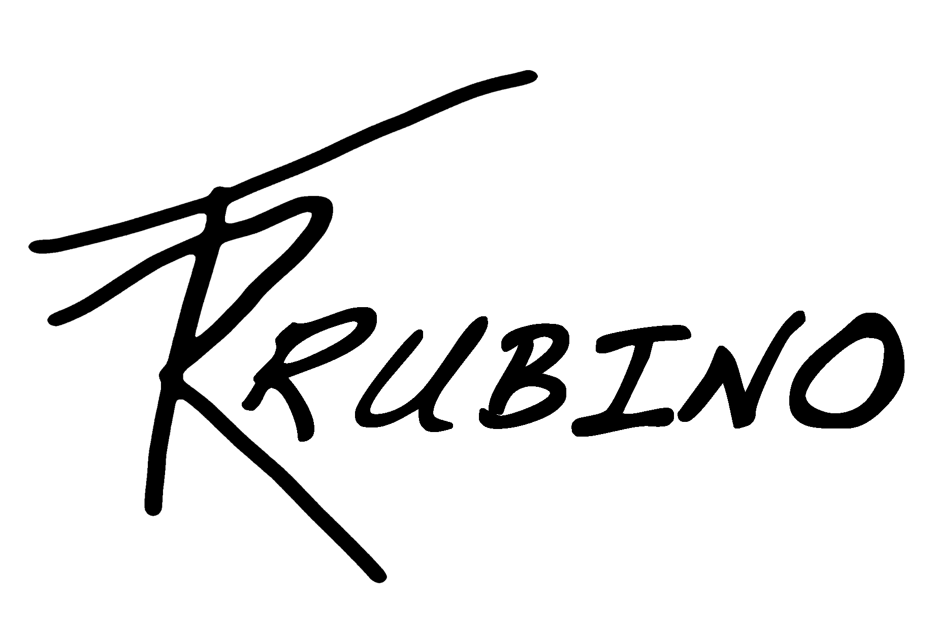 Tony Rubino's Signature