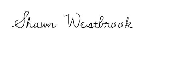 Shawn Westbrook's Signature